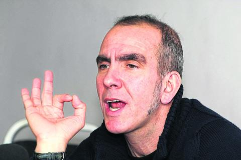 STICKING POINT? Former Town boss Paolo Di Canio