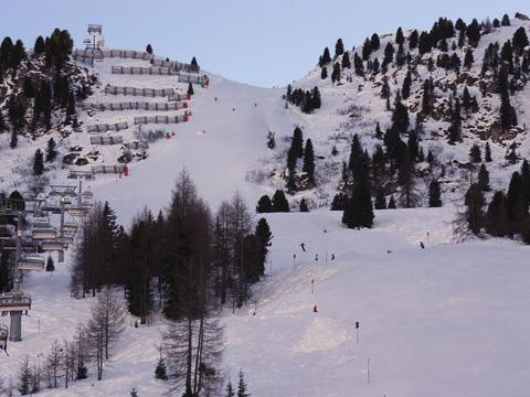 The Austrian resort of Mayrhofen