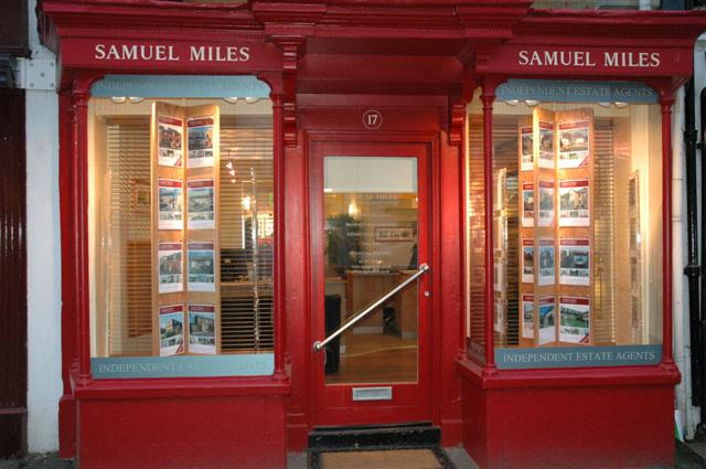 The Wiltshire Gazette and Herald: Samual Miles estate agents Highworth