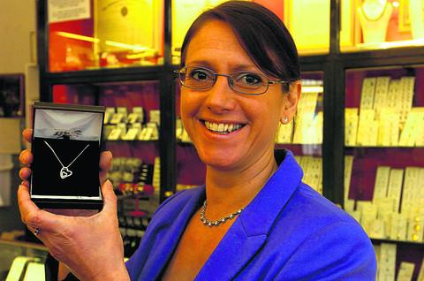 Jeweller Ruth Matthews says sales have risen in recent weeks