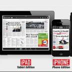 The Wiltshire Gazette and Herald: Portrait or Landscape, The Gazette and Herald App lets you read your paper whichever way you want, when you want