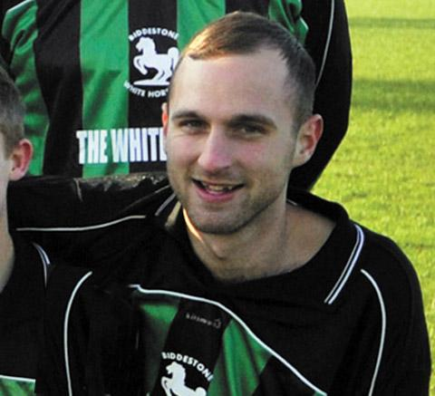 Biddestone player Tom Lye, 21, was left with a broken jaw after an incident in the game against North Star A on Sunday