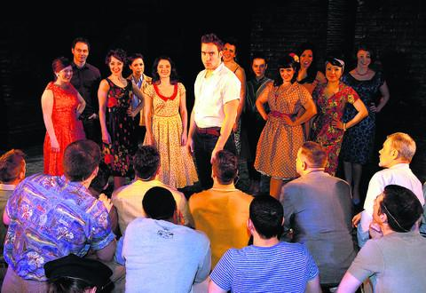 Robyn Bailey as Tony in West Side Story, staged at Erlestoke Prison
