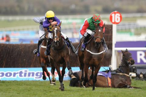Gold Cup winner Lord Windermere, left