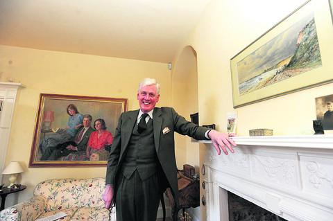New High Sheriff of Wiltshire William Wyldbore-Smith at his home in Bremhill