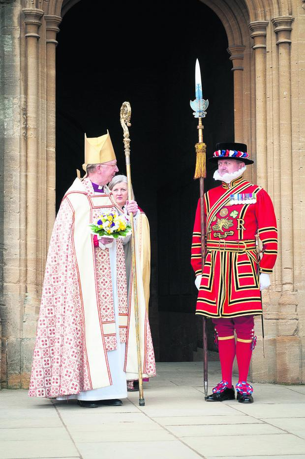 The Wiltshire Gazette and Herald: A talk about the Queen's Bodyguard of the Yeomen of the Guard was enjoyed at a meeting of North & West Wiltshire National Trust Association