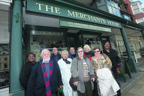 Travel company representatives from around the country were impressed by the Merchant's House in Marlborough