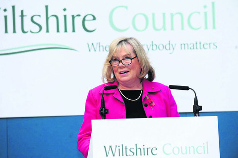 Coun Jane Scott, leader of Wiltshire Council, said the Local Government Association review confirmed that staff are focused on the council's vision and 'demonstrate a can-do attitude and commitment to making Wiltshire a better place'