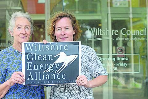 Rowena Quantrill and Sophy Fearnley-Whittingstall, of the Clean Energy Alliance, have welcomed a ruling that a council could not impose a 1.2km separation distance between wind turbines and homes