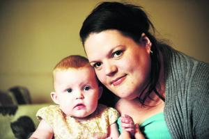 Meet the Gazette's Baby of the Year winner. She's five-month-old Gracie-Mae Plumb from Calne
