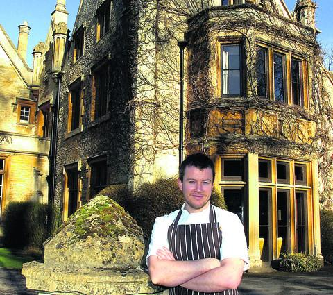 Richard Davies, executive chef of the Manor House, Castle Combe, starred in BBC 2's Great British Menu and has helped raise thousands of pounds for Comic Relief