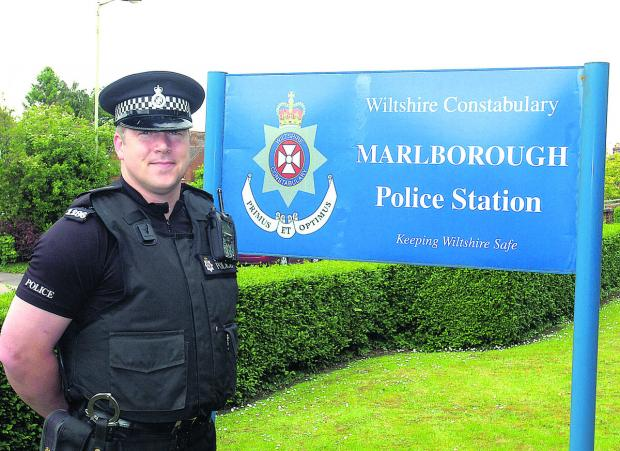 Sgt Barry Reed says he is committed to building a strong relationship with the Marlborough community