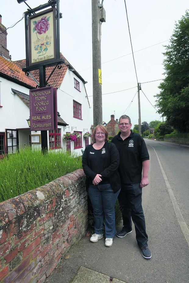 The Wiltshire Gazette and Herald: Landlords Margaret and Keith Green