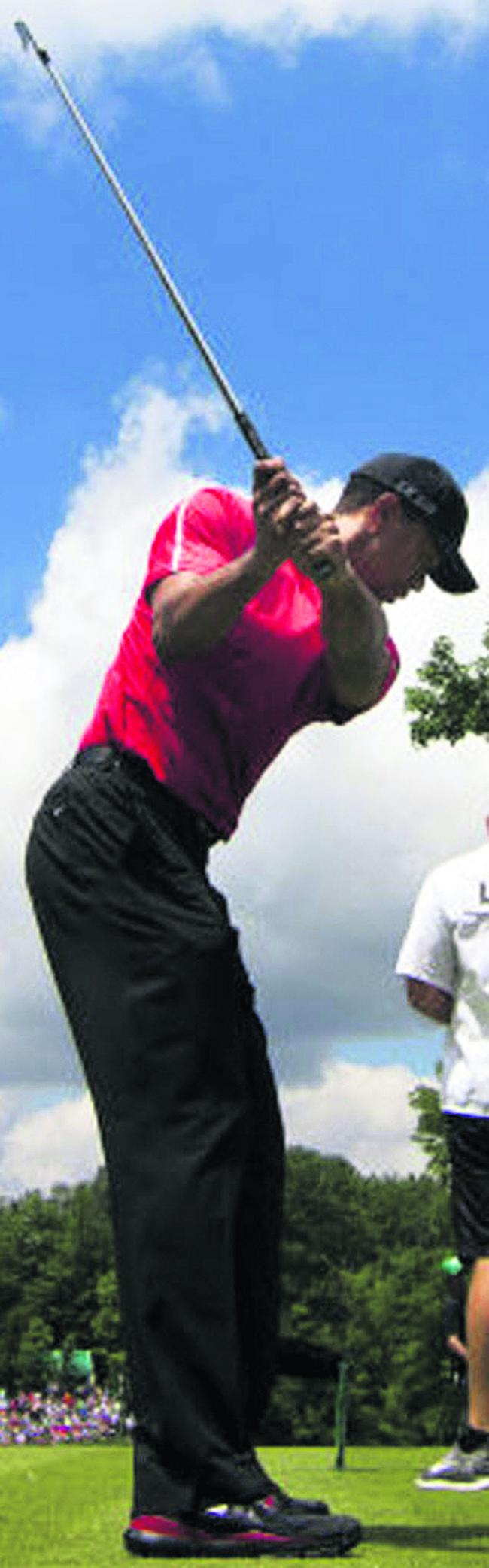 The top players, such as world number one Tiger Woods, all have a pre-shot routine