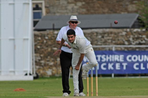 Tahir Afridi starred with bat and ball for Wiltshire