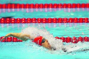 SWIMMING: Steph trials changes at Glasgow