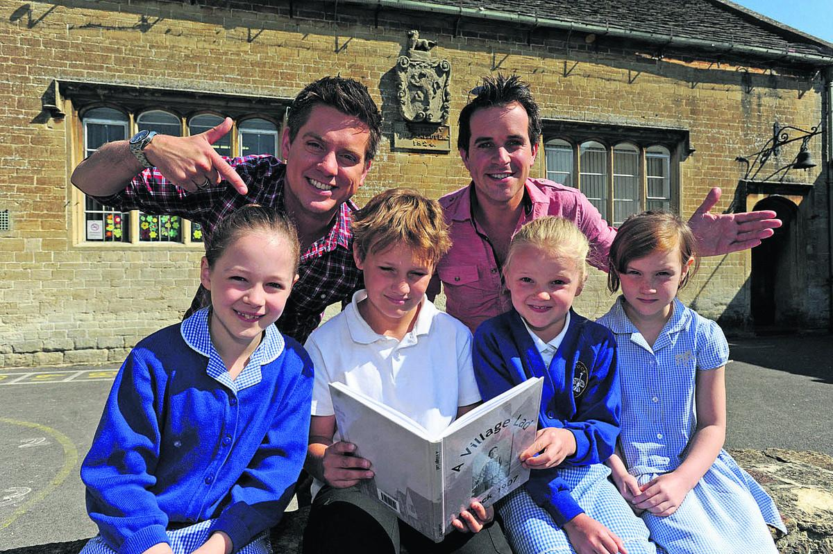 TV's Dick and Dom learn a lesson in Lacock