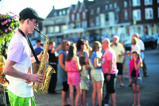 The Wiltshire Gazette and Herald: Marlborough weekend of jazz to fill town streets