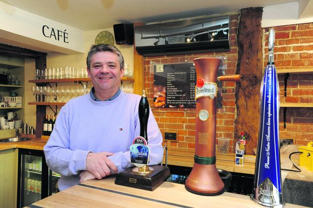 The Wiltshire Gazette and Herald: Peppermill owner Philip O'Shea