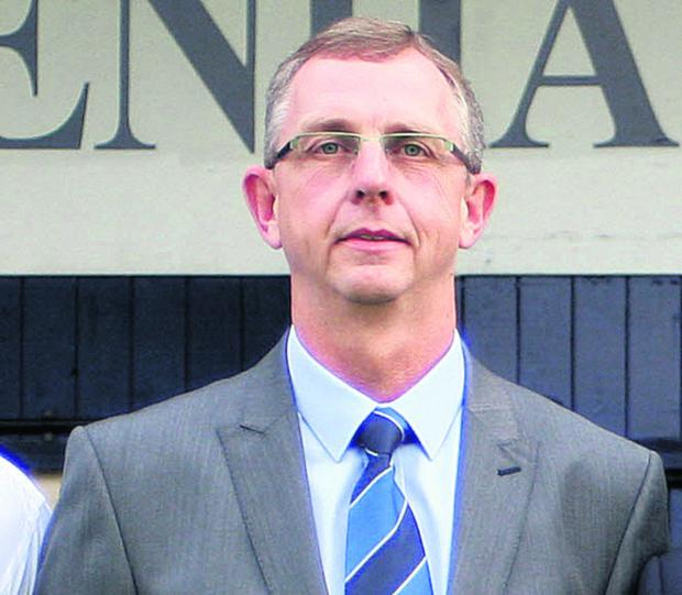 The Wiltshire Gazette and Herald: Chippenham Town chairman Neil Blackmore
