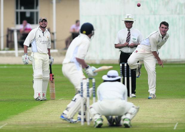 Adam Lavis took five wickets for Burbage & Easton Royal