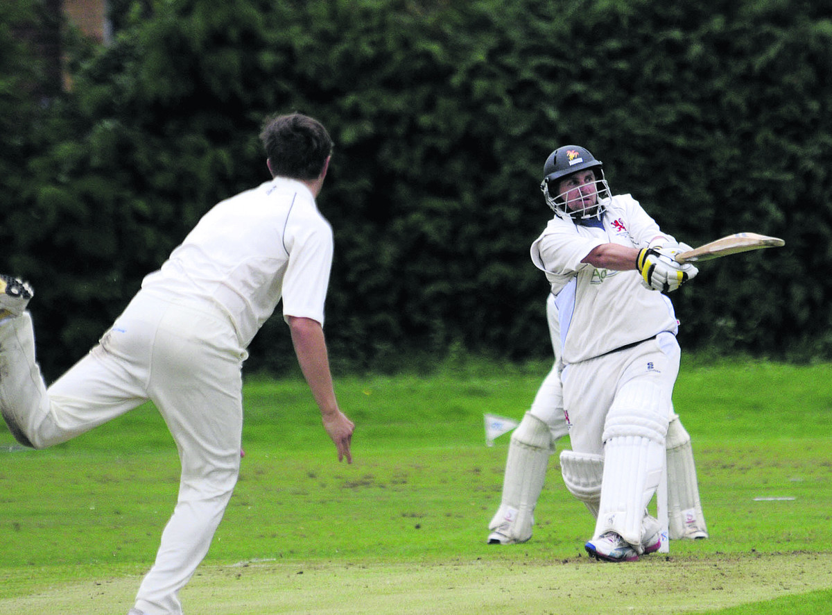 Burbage & Easton Royal's Michael Papps scored a century in his side's win over Winsley in the Wiltshire Division