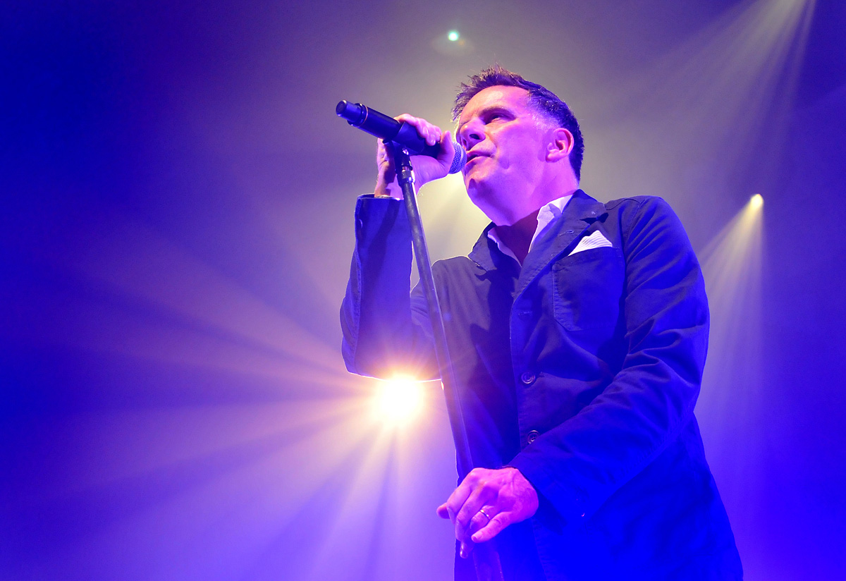 Ricky Ross, lead singer with Deacon Blue