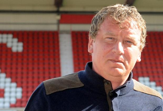 Current Swindon Town chairman Lee Power