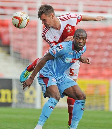 Grant Hall featured for Swindon Town's development side in midweek after a long lay-off through injury