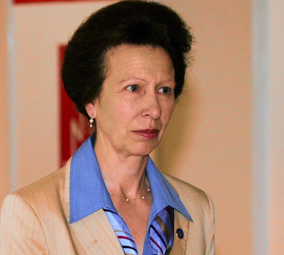 Canal boat trip for Princess Royal during Devizes visit