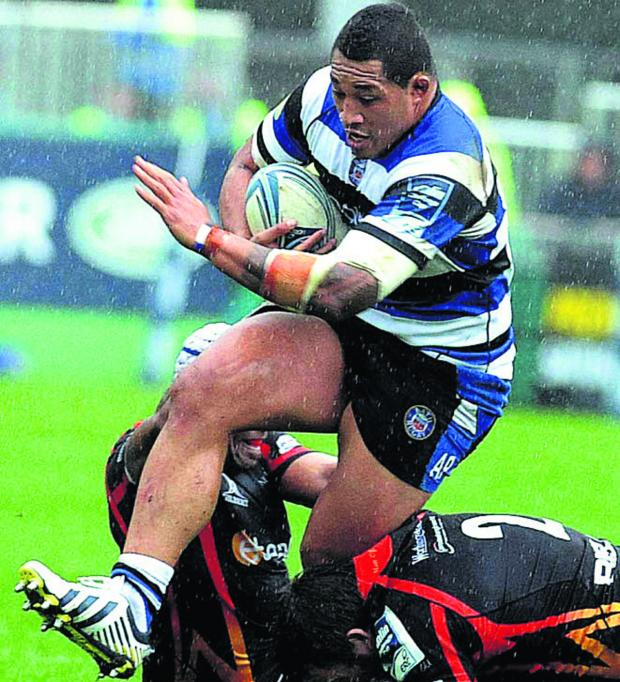 The Wiltshire Gazette and Herald: Bath prop Anthony Perenise will join Bristol at the end of the season