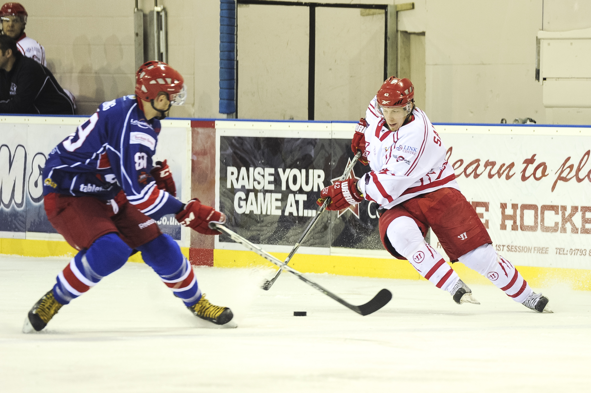 Henri Sandvik scored a hat-trick for Cats at Basingstoke