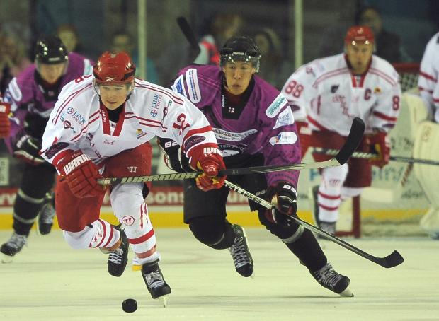 Floyd Taylor, left, will be back with Swindon Wildcats next season