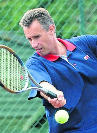 Malmesbury Tennis Club chairman Miles Edmeston