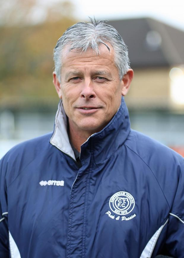 The Wiltshire Gazette and Herald: Chippenham Town manager Mark Collier