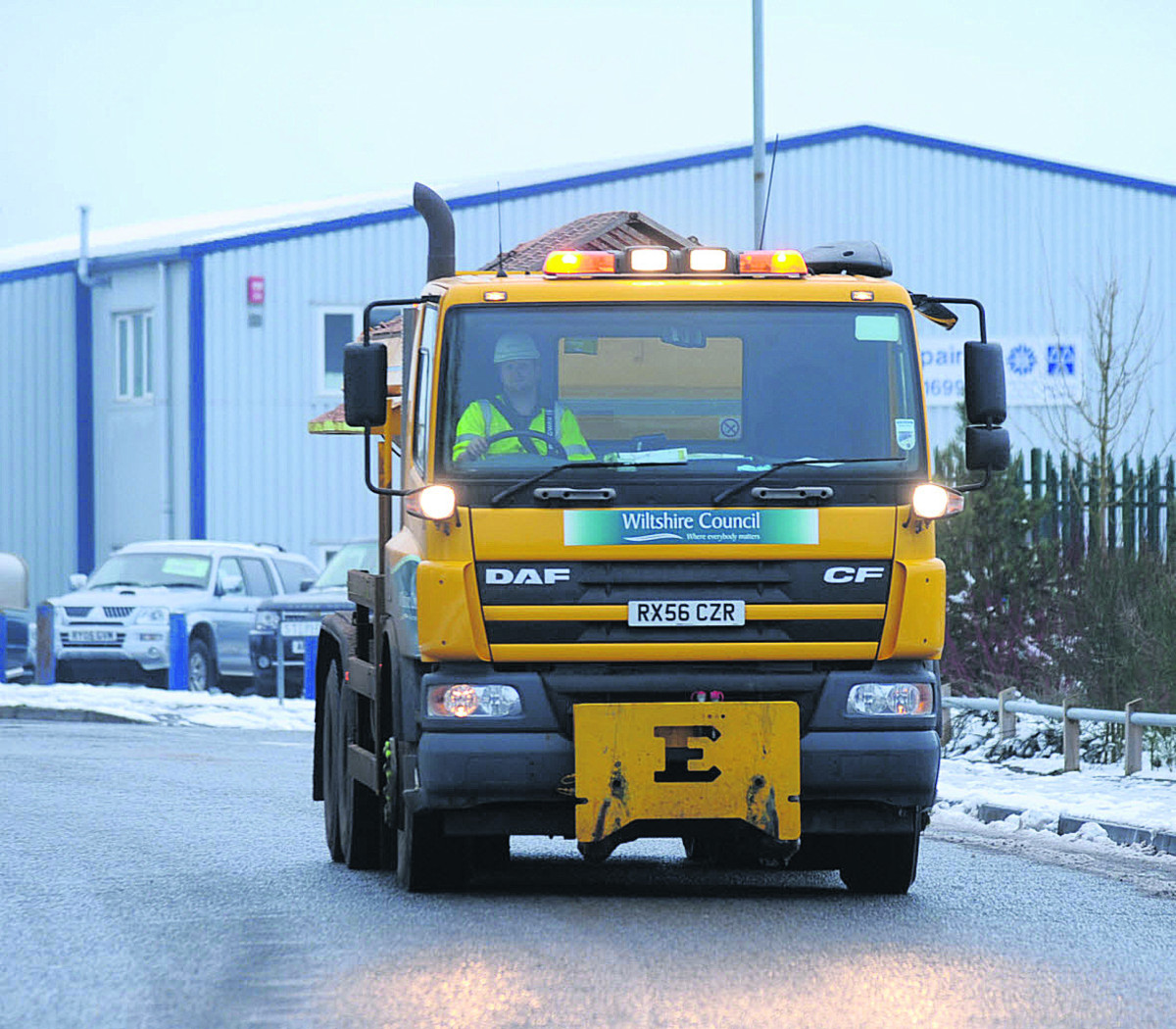 Wiltshire's gritters are ready to roll