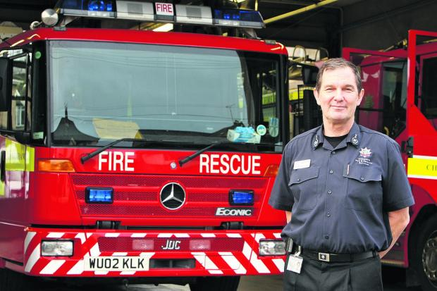 Chief fire officer Simon Routh-Jones