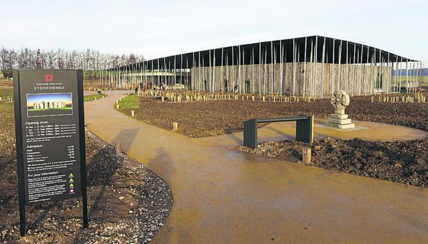 The new visitor centre at Stonehenge