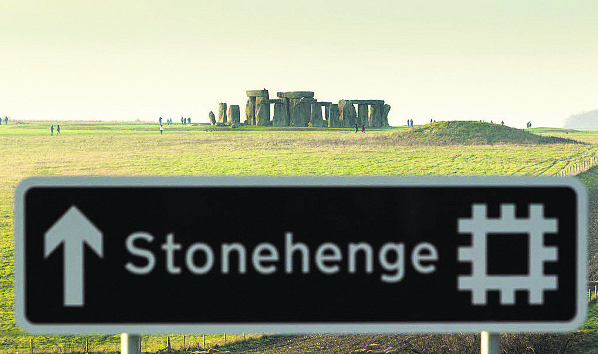 The first monuments at Stonehenge were built by people living at Amesbury; now thought to be Britain's oldest town
