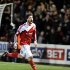 The Wiltshire Gazette and Herald: Town's Yaser Kasim celebrates