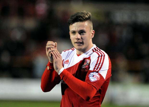 Miles Storey is understood to be interesting three Football League clubs but Swindon Town manager Mark Cooper still has the striker in his plans for next season