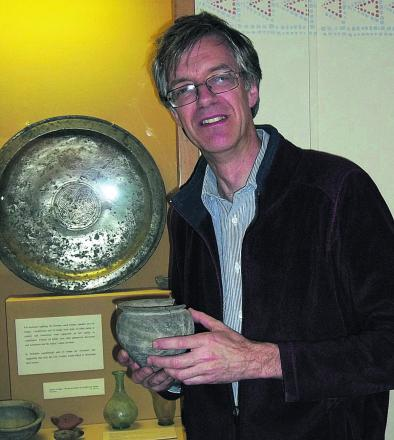 David Dawson, director of Wiltshire Museum in Long Street, Devizes
