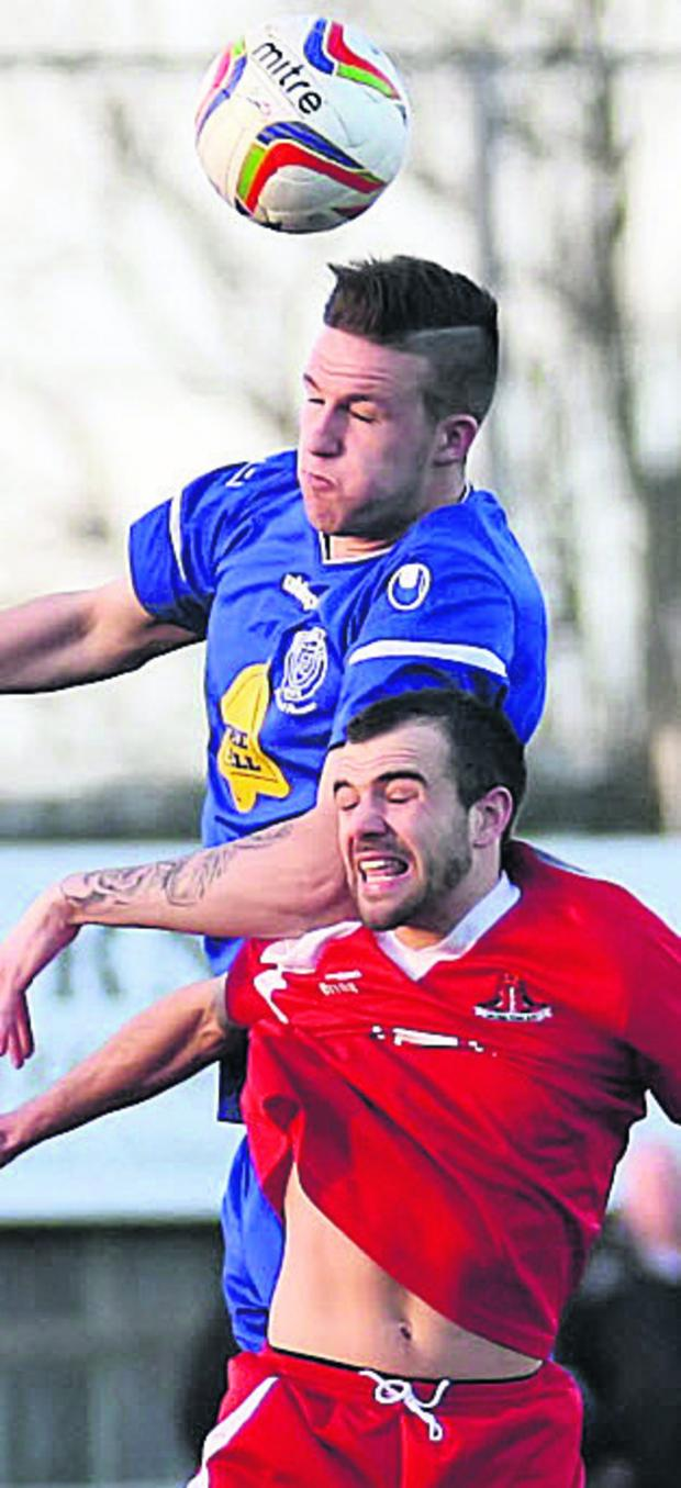 The Wiltshire Gazette and Herald: Chippenham Town are aiming to re-sign Aaron Oakley on loan
