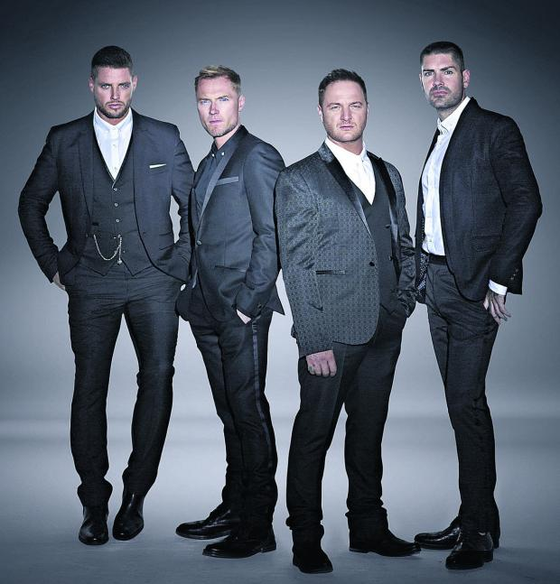 The Wiltshire Gazette and Herald: Boyzone will appear at Westonbirt Arboretum on July 18