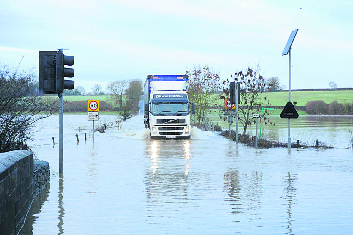 Five flood warnings in place as Wiltshire remains on weather alert
