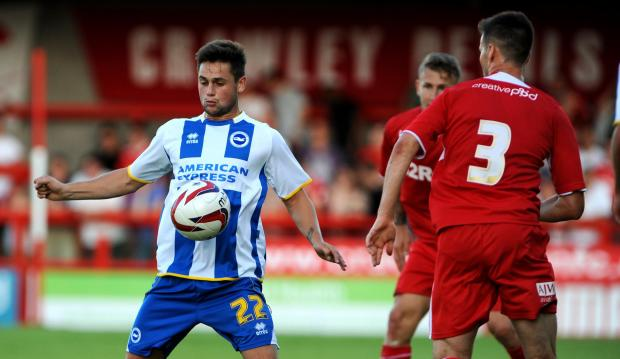 George Barker will join Swindon Town from Brighton this week
