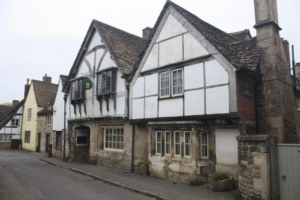 At the Sign of the Angel, on Church Street, Lacock