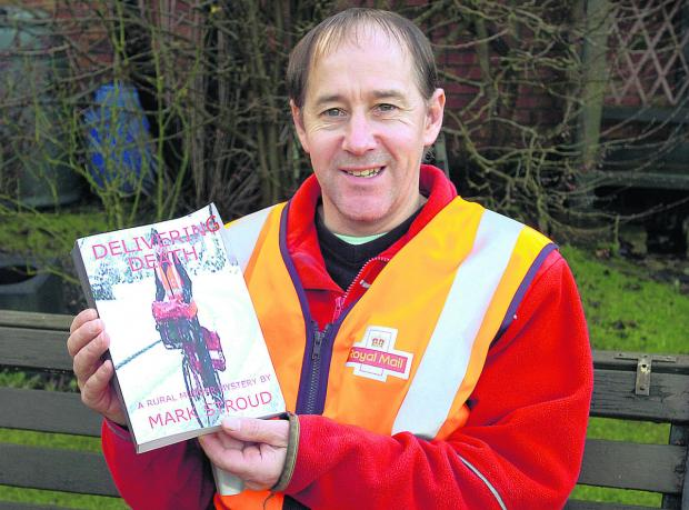 Postman Mark Stroud's first book is a murder mystery based in a Wiltshire town