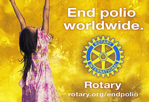 The Wiltshire Gazette and Herald: A 5km fun run in aid of polio eradication is being staged on February 23 in aid of polio eradication, organised by Rotary clubs including those from Royal Wootton Bassett