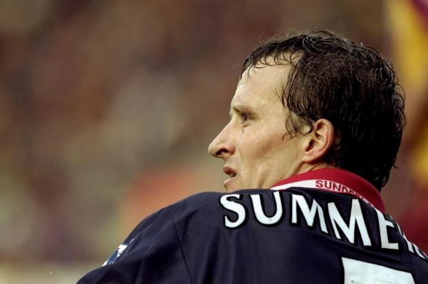Ex-Town star Nicky Summerbee